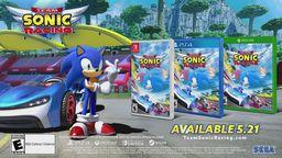 《组队索尼克赛车》售前宣传片 5月21日发售中文版同步