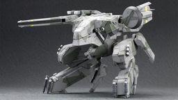 日本大学社团公布Metal Gear REX机器人模型 还原魄力动作