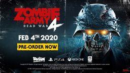 《僵尸部队4 死亡战争》将于2020年2月4日发售 多款限定版公布