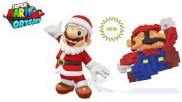 《超级马里奥 奥德赛》新增圣诞老人及8位像素造型