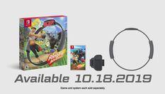 Switch新商品《健身环大冒险》正式揭晓 10月18日发售