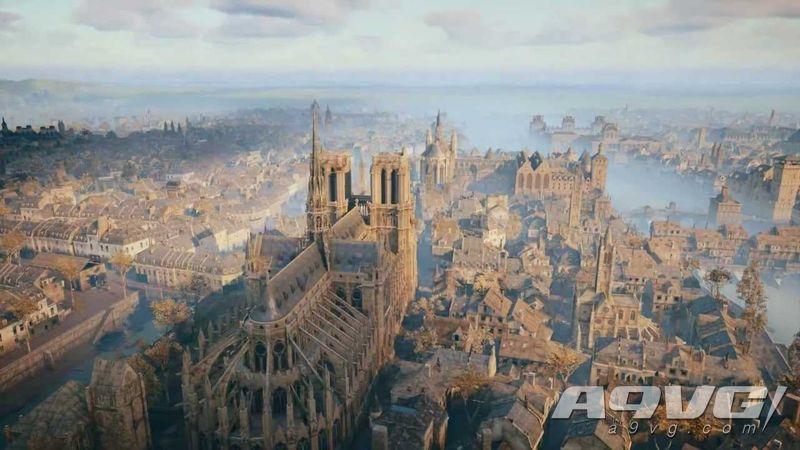 巴黎圣母院发生火灾 《刺客信条 大革命》或成为修复参考