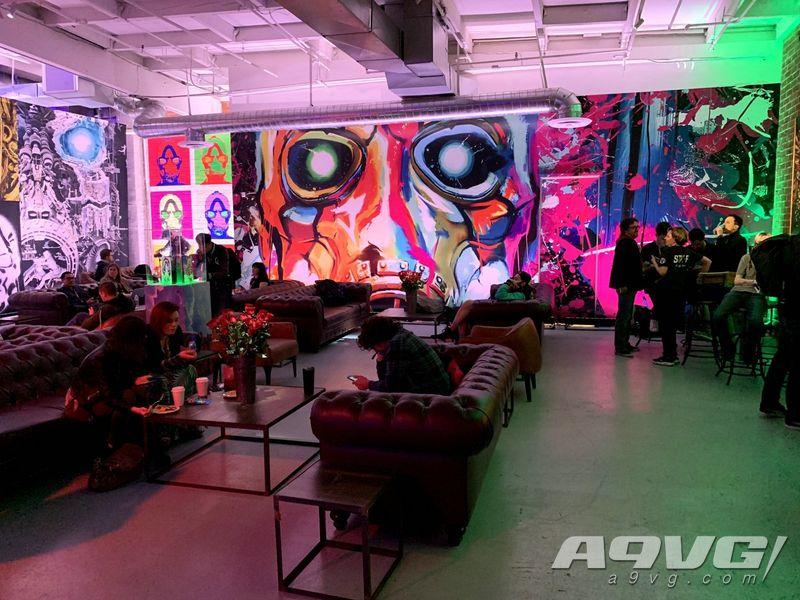 《无主之地3》全球媒体试玩会现场视频 会场环境一览