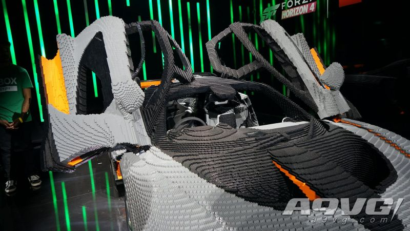 《极限竞速:地平线4》等比例乐高版迈凯伦塞纳跑车图集