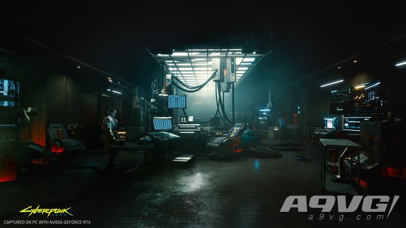 《赛博朋克2077》支持4K光线追踪 公开全新官方截图