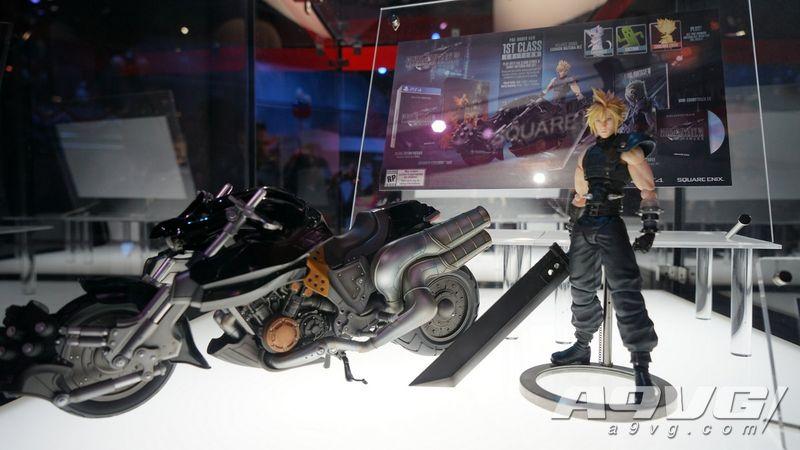《最终幻想7 重制版》限定版克劳德可动手办实拍图集