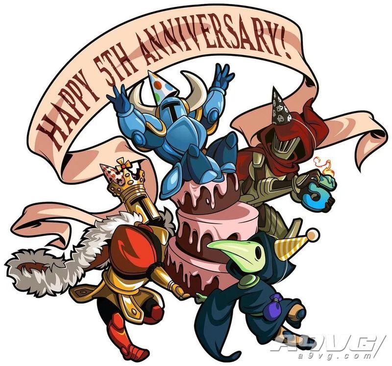 庆祝《铲子骑士》5周年 已在13个平台卖出超过250万份