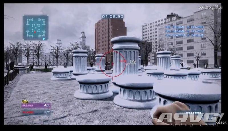 《如龙5 HD版》冴岛大河雪上格斗技专家级简单打法视频