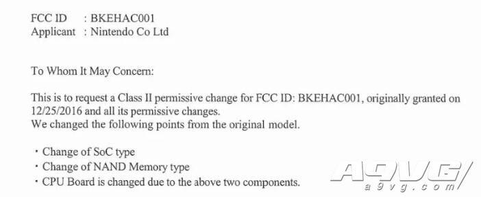 原版Switch可能推出更新机型 包含新处理器和闪存芯片