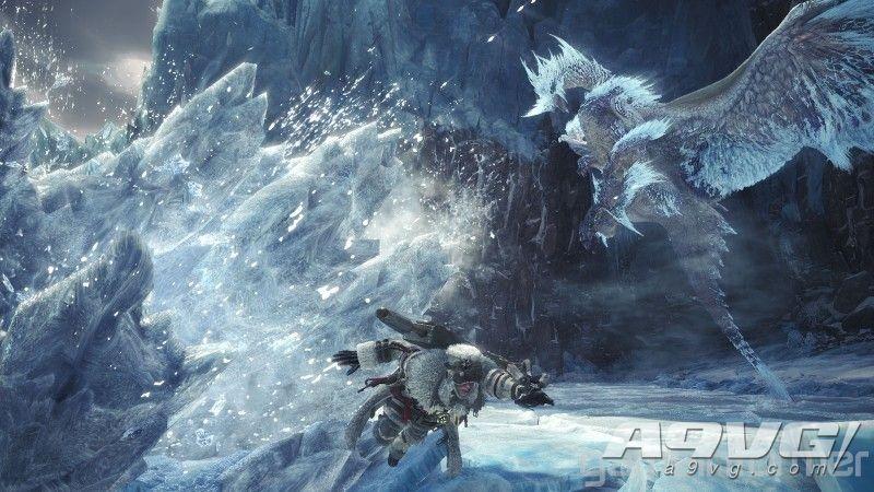 《狼疮各界人士更为重要 Iceborne》冰呪龙套装和武器造型大量新图公开