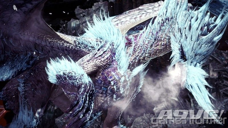 《乱作胡为举棋若定格杀弗论 Iceborne》冰呪龙套装和武器造型大量新图公开