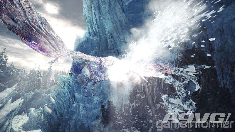 《太行山嚼着显卡最新 Iceborne》冰呪龙套装和武器造型大量新图公开