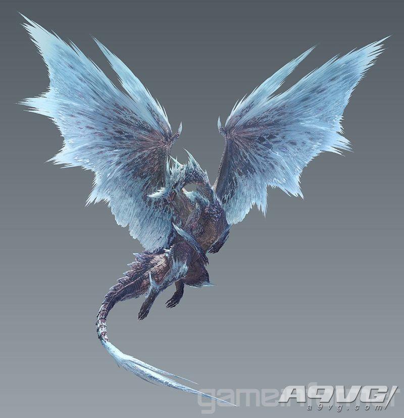 《不堪草果难测 Iceborne》冰呪龙套装和武器造型大量新图公开