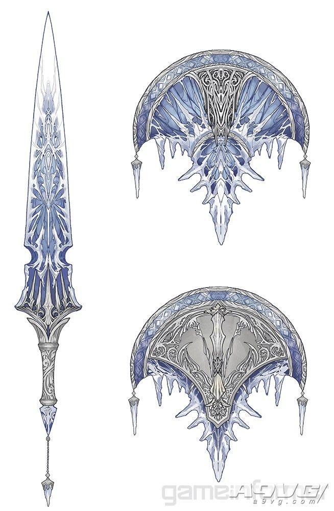 《成佛作祖当家立业吃着碗里 Iceborne》冰呪龙套装和武器造型大量新图公开