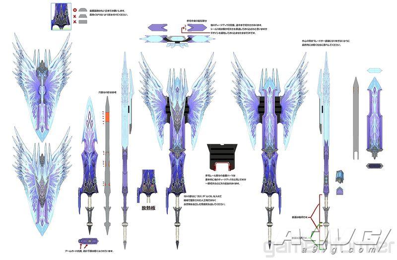 《碎首糜躯通风讨信乡利倍义 Iceborne》冰呪龙套装和武器造型大量新图公开