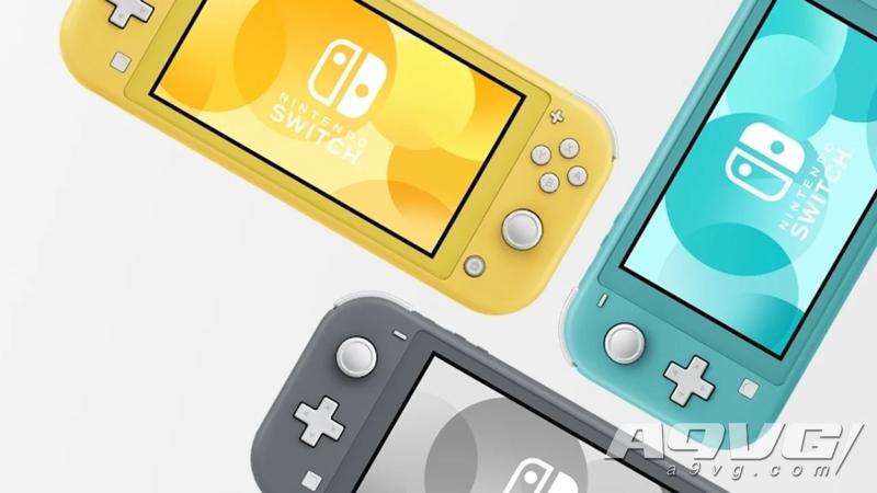 任天堂表示Switch Lite将是今年推出的唯一一款硬件