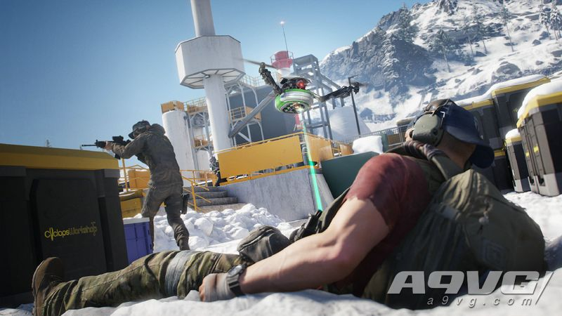《幽灵行动 断点》6小时试玩报告 在极光岛中体验被猎杀的感觉