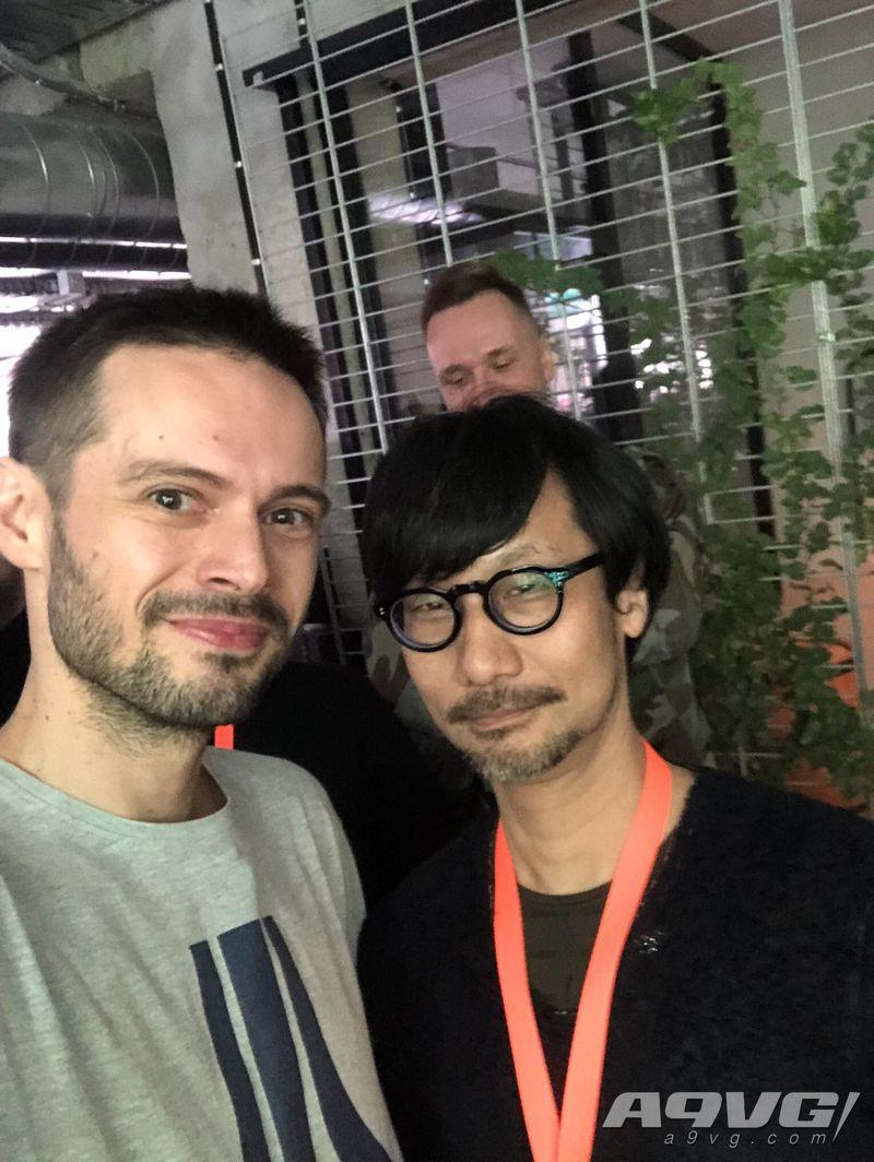 小岛秀夫造访《赛博朋克2077》开发商CDPR和PlayStaion波兰