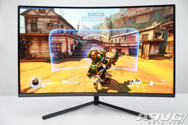 三星UR59C显示器实测 游戏视界震撼来临