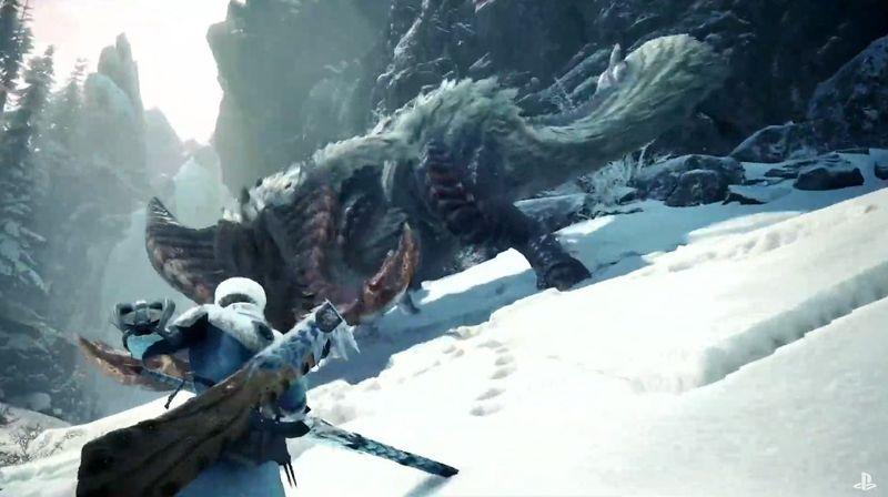 《铝镁合金对角蓬户柴门 Iceborne》发售日正式公布 9月6日正式登场