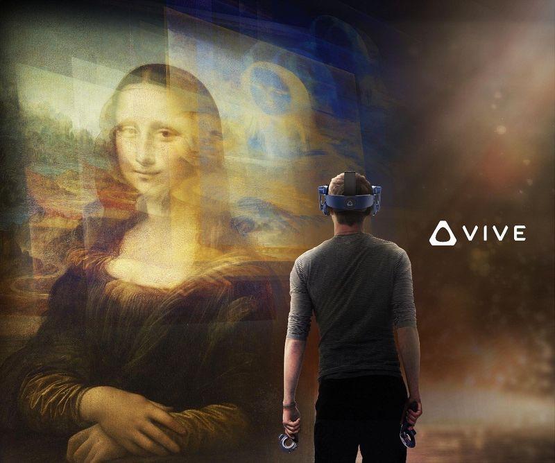 卢浮宫与HTC Vive Arts携手打造首个VR体验项目