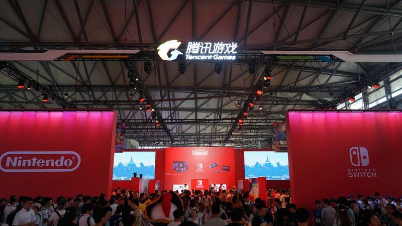 ChinaJoy 2019腾讯任天堂展台概览 林克、皮卡丘、马力欧登场