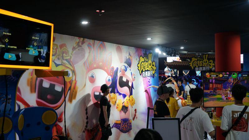 ChinaJoy 2019育碧展台现场图集:提前感受疯兔新作的魅力