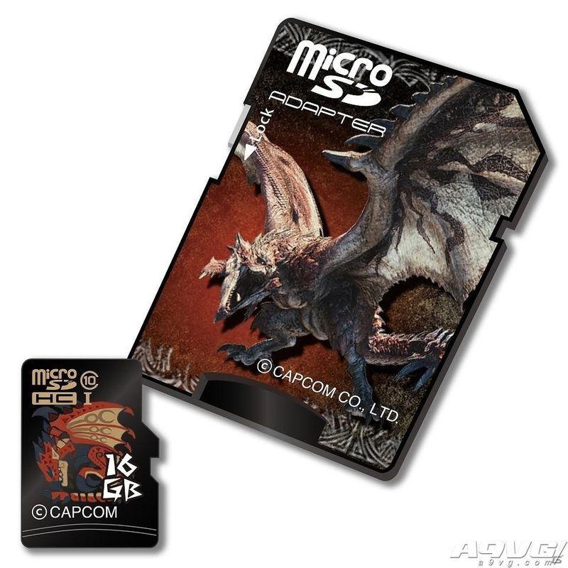 《再贴现第八卷》推出三款主题microSDHC卡 容量16G四月上市