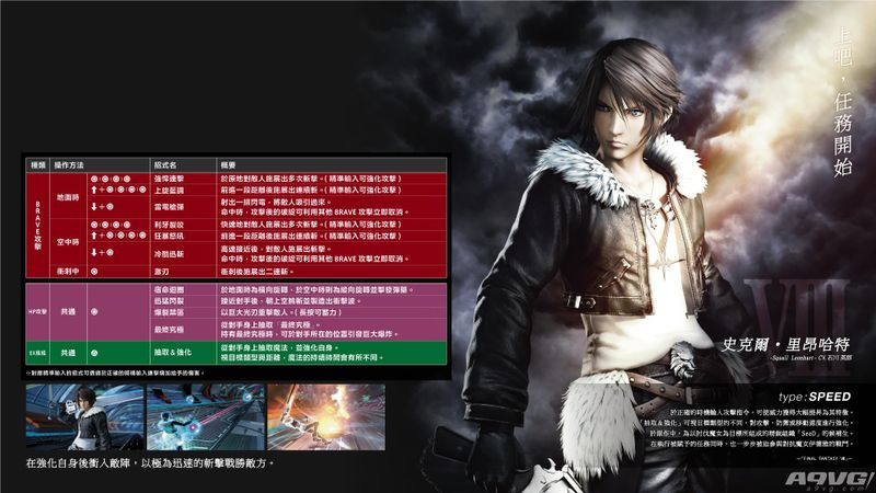 《最终幻想纷争NT》史克尔用法出招表攻略 斯考尔怎么用