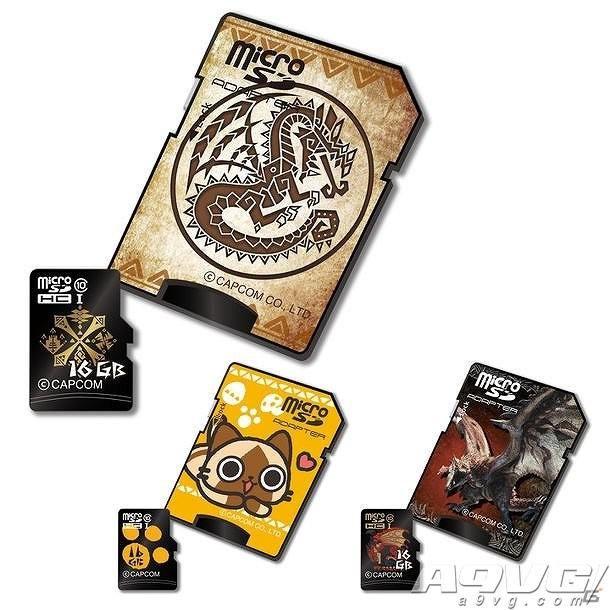 《残杀千金买笑》推出三款主题microSDHC卡 容量16G四月上市