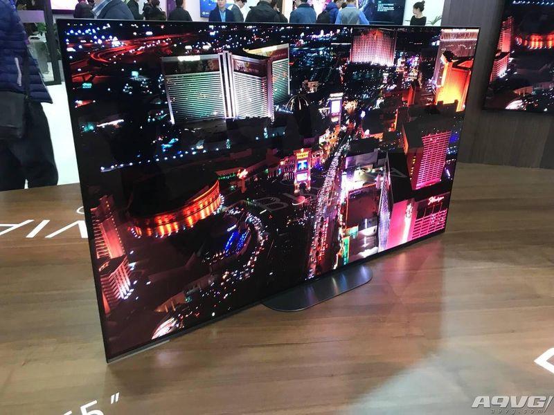 画谛系列新品Z9G首秀 索尼全阵容影音产品亮相AWE2019