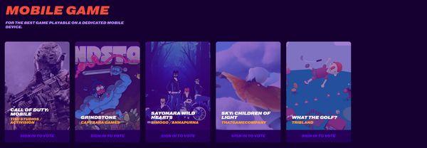 TGA 2019提名名单公开 只狼生化2死亡搁浅等6款作品角逐年度游戏