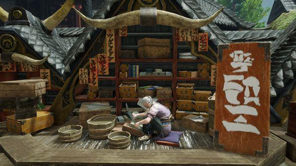 《怪物猎人 崛起》流浪商人和装备加工商影像公开