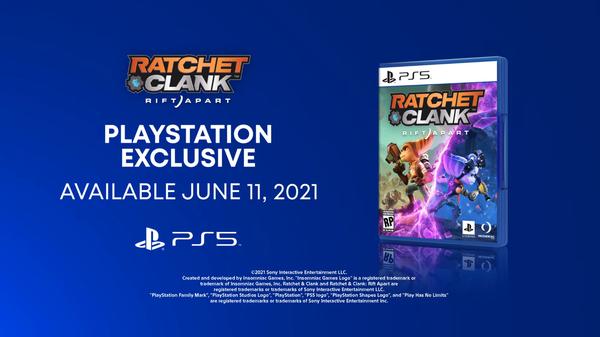 《瑞奇与叮当:裂隙》发售日正式公开 6月11日推出