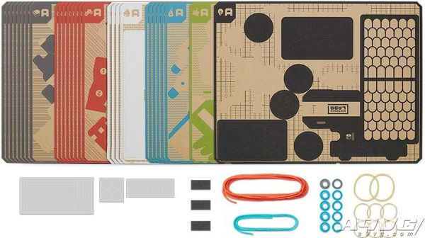 Nintendo Labo正式公布 游戏机将结合纸模产生新玩法