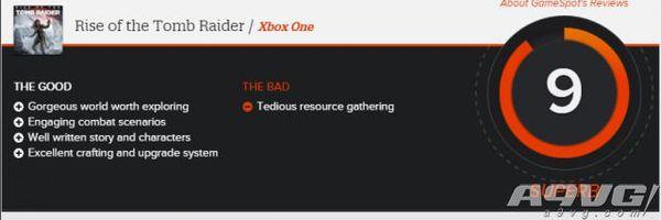 古墓丽影崛起获IGN 9.3分、GS 9分高分评价