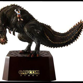 Capcom商店将推出「恐暴龙 x 受付娘」限量手办 Aibo的首次手办化