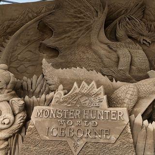 《怪物猎人世界》与鸟取市联动沙像制作完成 今日开始展出