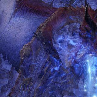 《怪物猎人世界 Iceborne》更新神秘怪物初登场 成年体冥灯龙