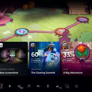 PS5主机系统UI首次公开 各种细节与新特性首次亮相