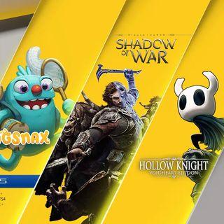 11月港服PS Plus会免游戏:《中土世界》、《空洞骑士》等