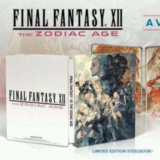 《最终幻想12 黄道年代》限定铁盒版和收藏版公布 附带审判长胸像