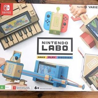 Nintendo Labo开箱展示与试玩感受 质感与设计并存