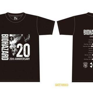 生化危机3月迎20周年纪念 Capcom推出主题T恤