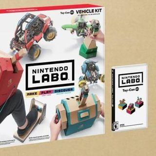 任天堂Labo第三弹驾驶套件公开 9月14日上市售价70美元