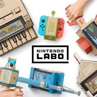 任天堂Labo宣布推出中文版 第一弹2019年1月17日发售