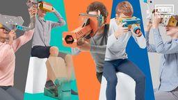 任天堂公开Labo VR KIT详细玩法介绍影像 收录64种游戏