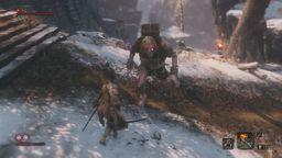 《只狼 影逝二度》精英怪赤鬼忍杀视频攻略 赤鬼位置地点