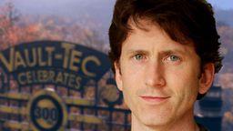 Todd Howard收到《輻射76》玩家的創意禮物 讓他自己稱重