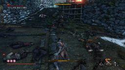 《只狼 影逝二度》苇名七本枪 鬼庭主马雅次忍杀视频攻略